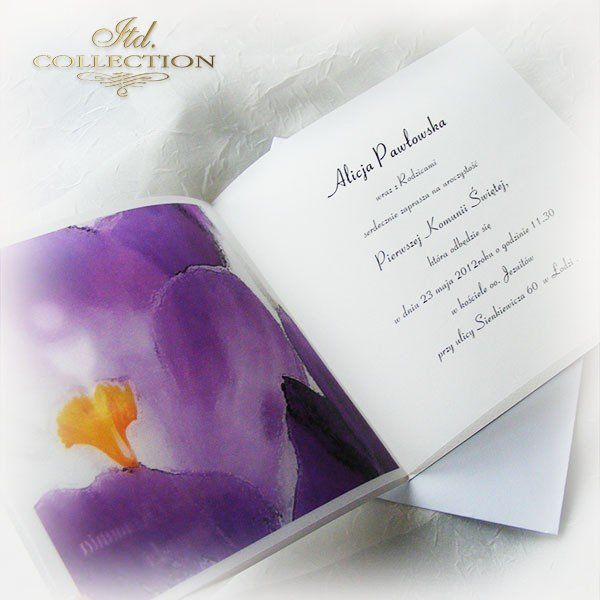 Holy Communion Invitation 1746_16_crocus