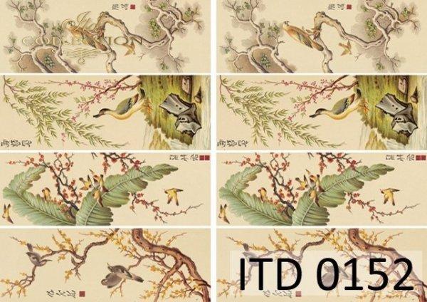 Decoupage paper ITD D0152
