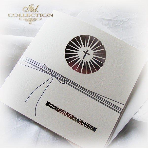 Holy Communion Invitation 1747_1 with photo