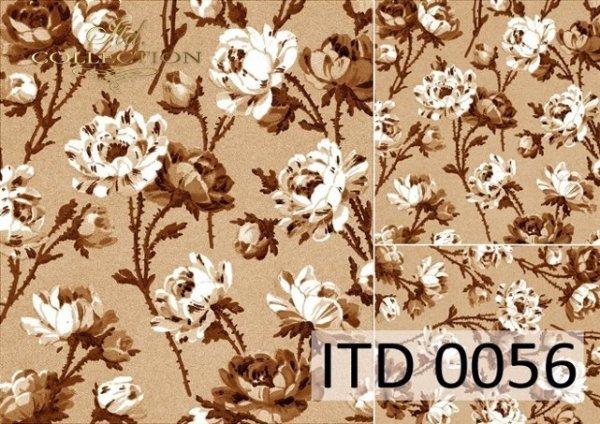 Decoupage paper ITD D0056