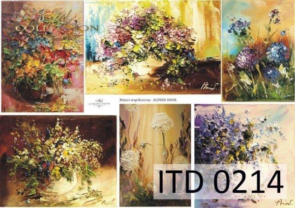 Decoupage paper ITD D0214