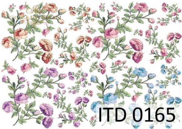 Decoupage paper ITD D0165