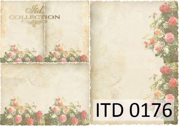 Decoupage paper ITD D0176