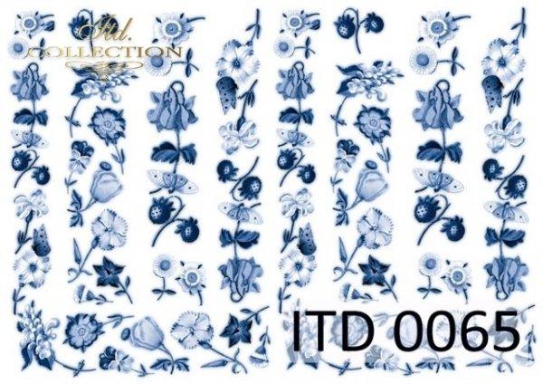 Decoupage paper ITD D0065