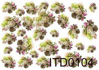 Decoupage paper ITD D0104