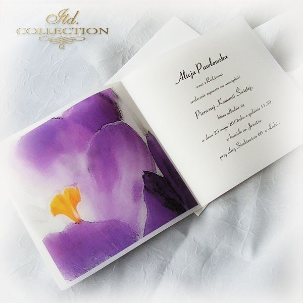 Holy Communion Invitation 1747_17_crocus