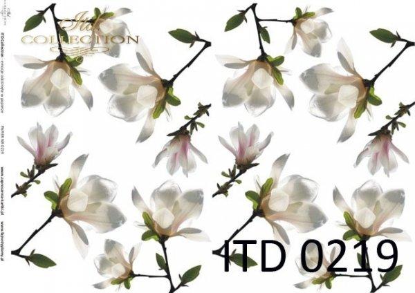 Decoupage paper ITD D0219