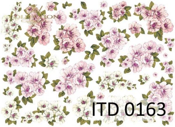 Decoupage paper ITD D0163