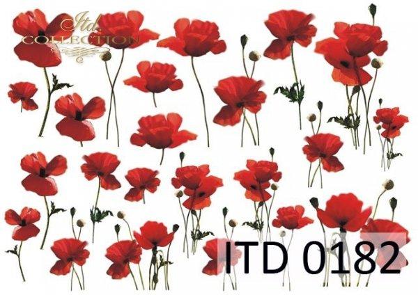 Decoupage paper ITD D0182