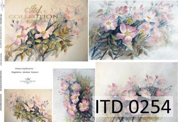 Decoupage paper ITD D0254