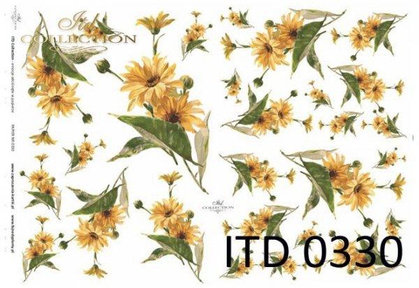 Decoupage paper ITD D0330