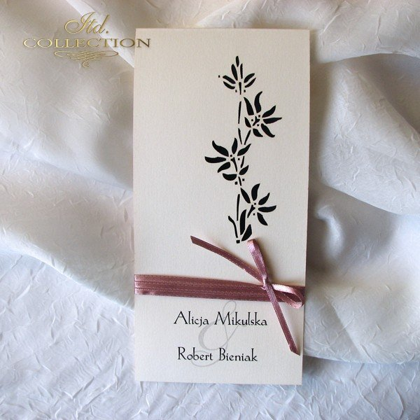 Weedding Invitation with good invitation layout