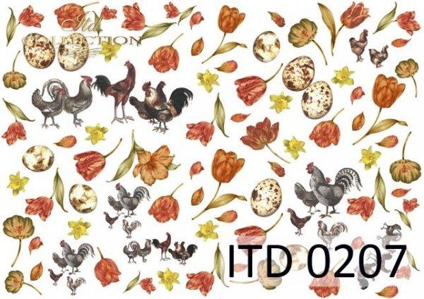 Decoupage paper ITD D0207