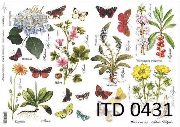 Decoupage paper ITD D0431