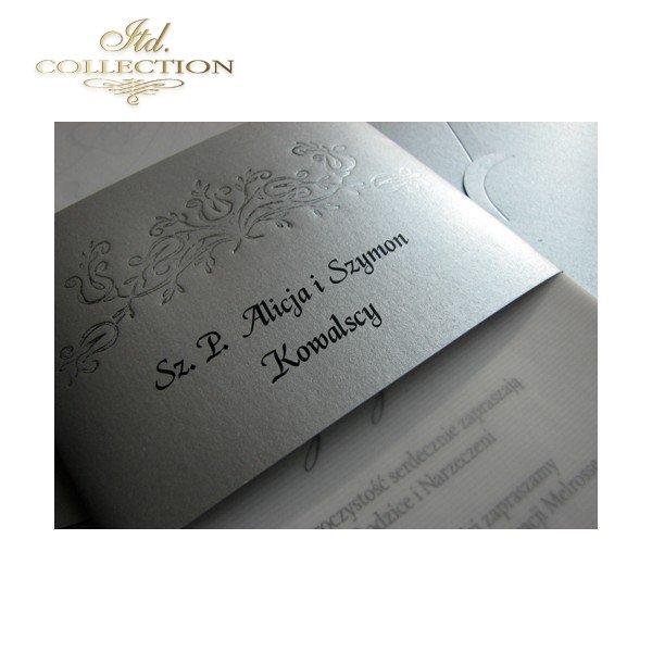 Invitations / Wedding Invitation 1499