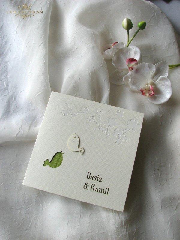 Invitations / Wedding Invitation 1723_15_green