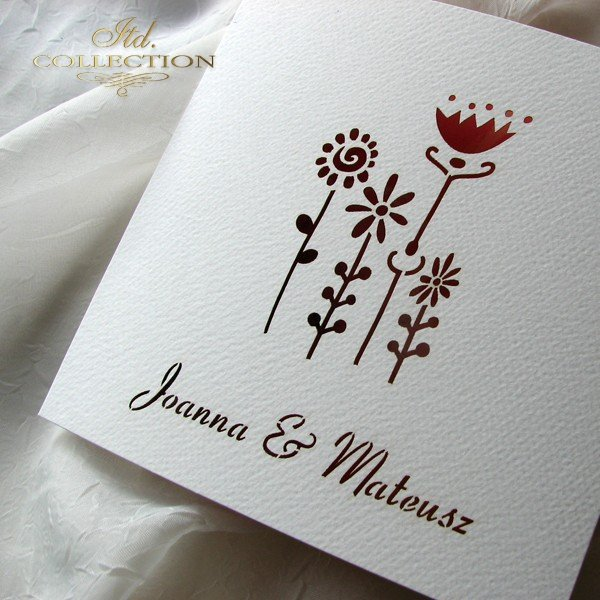 Invitations / Wedding Invitation 01731_51_gerbera