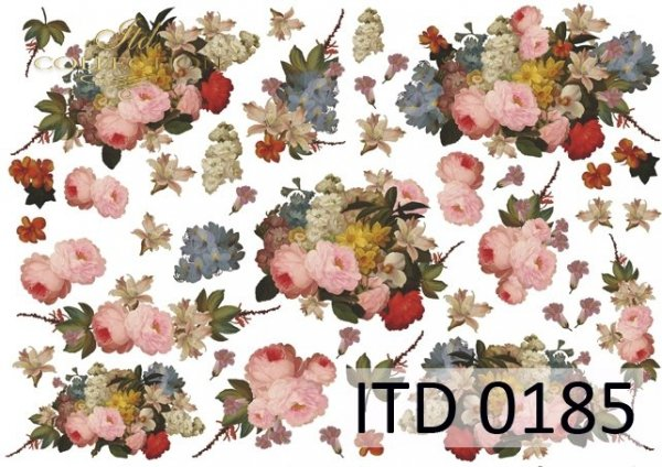 Decoupage paper ITD D0185