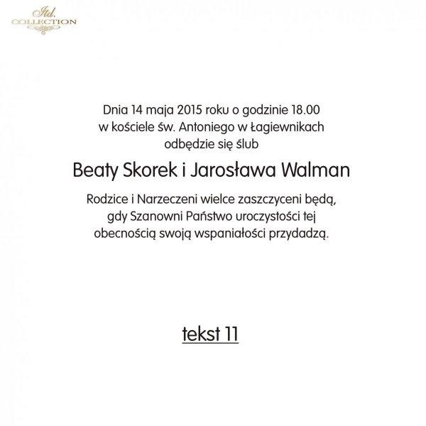 Teksty na ślub - TS11