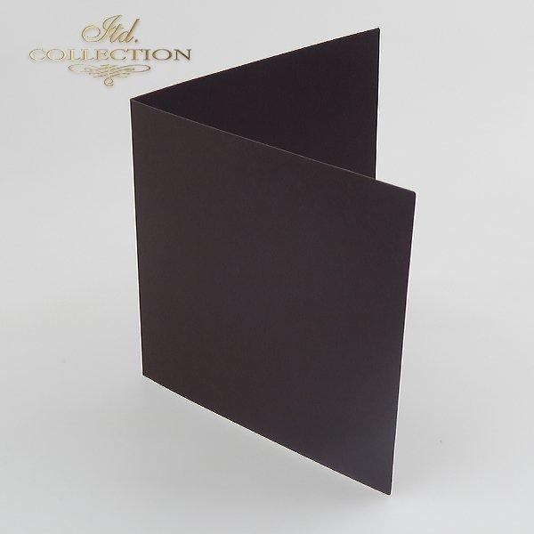 Baza do kartki 152x152 mm * Czarna