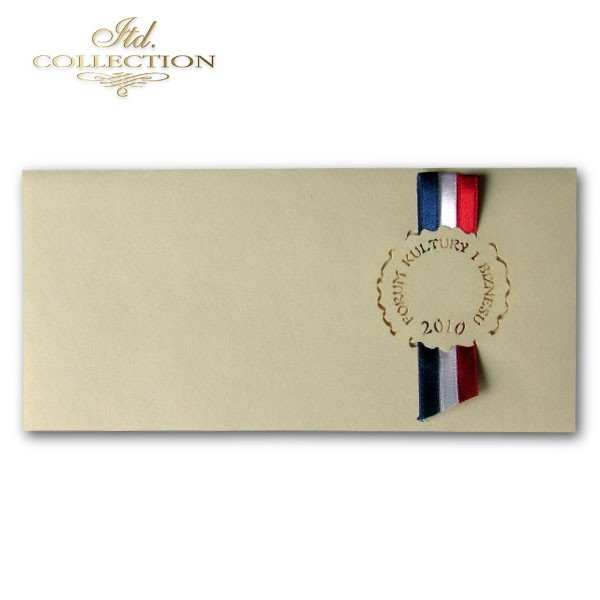 Zaproszenie biznesowe ZB1025 z kopertą