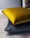 Velvet złota poduszka dekoracyjna 50x30