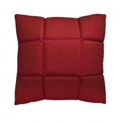 Trix duża poduszka dekoracyjna 50x50 cm. czerwona MOODI