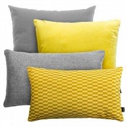 Szaro żółty zestaw Pram + Velvet + Brera + Break