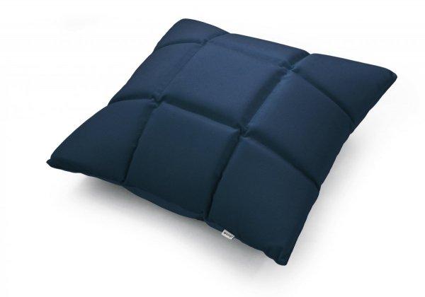Trix duża poduszka dekoracyjna 50x50 cm. granatowa MOODI