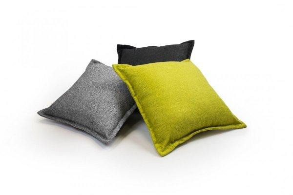 Tweed poduszka dekoracyjna Niebieska 45x45
