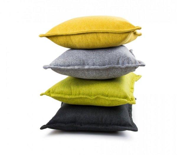 Tweed poduszka dekoracyjna Szara 45x45