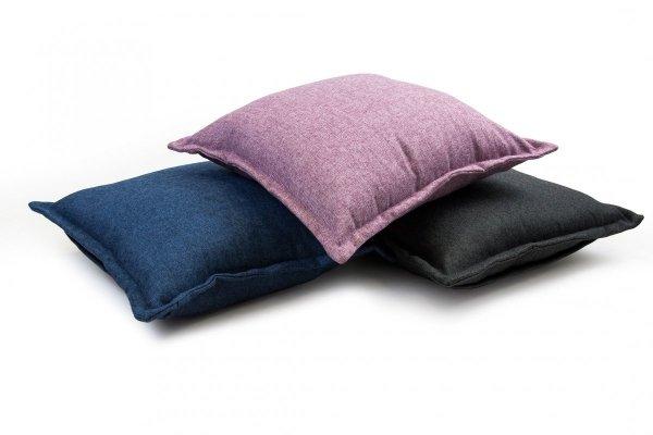 Tweed poduszka dekoracyjna Brązowa 45x45