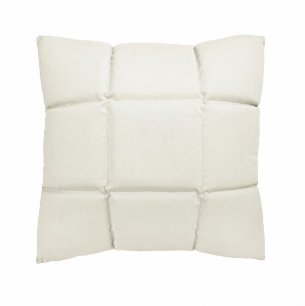 Trix duża poduszka dekoracyjna 50x50 cm. biała MOODI