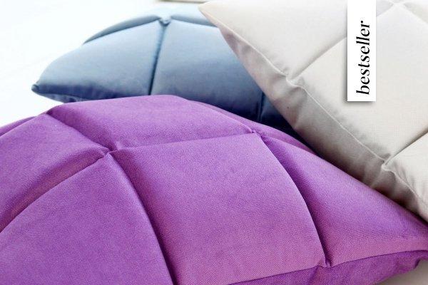 Trix duża poduszka dekoracyjna 50x50 cm. żółta MOODI