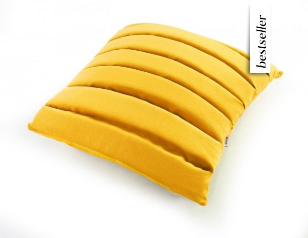 Level poduszka dekoracyjna MOODI 40x40 cm. żółta