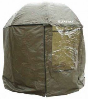 Parasol wędkarski Mistrall przeciwdeszczowy 2,50m namiot gumowany am-6009479