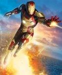 Fototapeta dla dzieci - 3D - Iron Man 3 - 244x201cm
