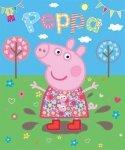 Tapeta dla dzieci -  Peppa Pig - 3D - Walltastic