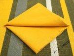 Serwetki na stół - Żółte - 40x40cm - 6szt/op