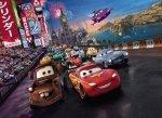 Fototapeta dla dzieci - Samochody, wyścig Disney'a 254x184cm