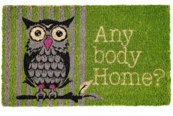 Wycieraczka wejściowa - Any body Home?