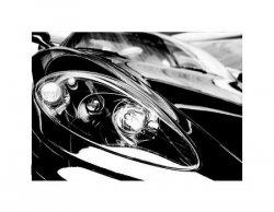Czarny Sportowy Samochód - reprodukcja