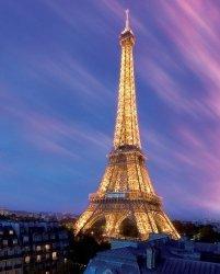 Eiffel Tower At Dusk - plakat