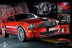 Easton Red Mustang - plakat