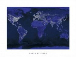 Earth By Night - reprodukcja