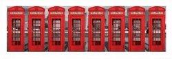 London Phoneboxes - reprodukcja