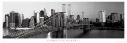 New York (Manhattan rankiem) - plakat