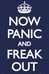 Panic Now And Freak Out - plakat