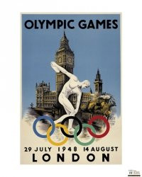 London 1948 Olympics - reprodukcja