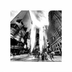 Times Square BW (New York) - reprodukcja